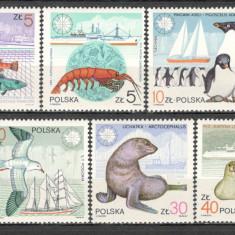 Polonia.1987 10 ani Statia Antarctica
