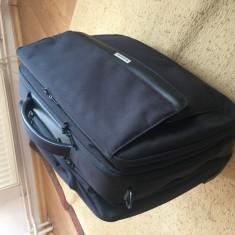 Geanta laptop carry on SAMSONITE, culoare negru