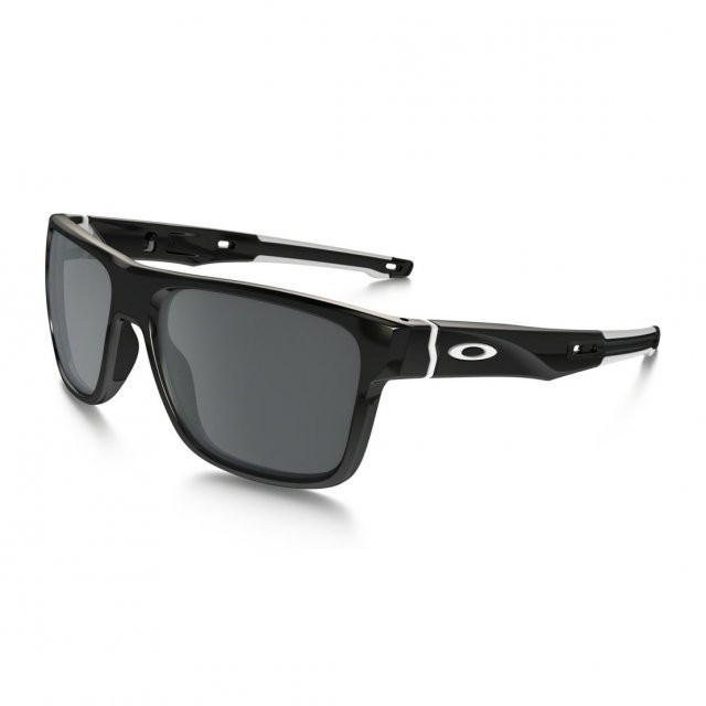 Ochelari de soare OAKLEY Crossrange Polished Black w/ Black Iridium (OAK-OO9361-0257) foto mare
