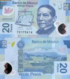 MEXIC 20 pesos 2008 polymer UNC!!!