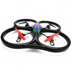 Drona iUni V262, leduri pentru exterior, Telecomanda WiFi, Giroscop, Verde