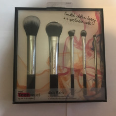 Pensule machiaj Real Techniques Silver 5 SET - Pensula machiaj