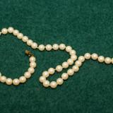Colier  vintage din perle