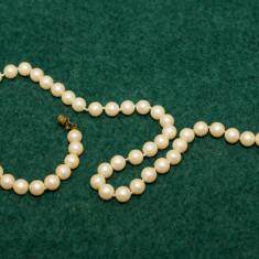Colier vintage din perle - Colier fashion