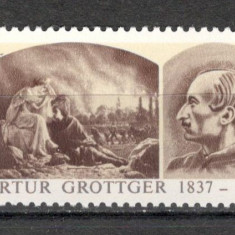 Polonia.1987 150 ani nastere A.Grotter-Pictura SP.370 - Timbre straine, Nestampilat