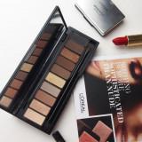Trusa machiaj 10 nuante fard Loreal La Palette Nude Varianta Beige - Fard pleoape L'oreal Paris