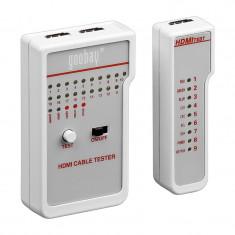 Tester pentru cabluri HDMI Goobay, 9 V