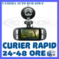 CAMERA VIDEO DVR AUTO MARTOR ACCIDENT G1W-C FULL HD 1080P - SUPRAVEGHERE AUTO - Camera video auto ZDM, 64GB, Wide, Single, Senzor imagine MP CMOS: 12