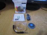 MP3 PHILIPS GOGEAR MINIDOT 2 GB BLUE CA NOU LA CUTIE CU ACCESORII, 2GB, Albastru