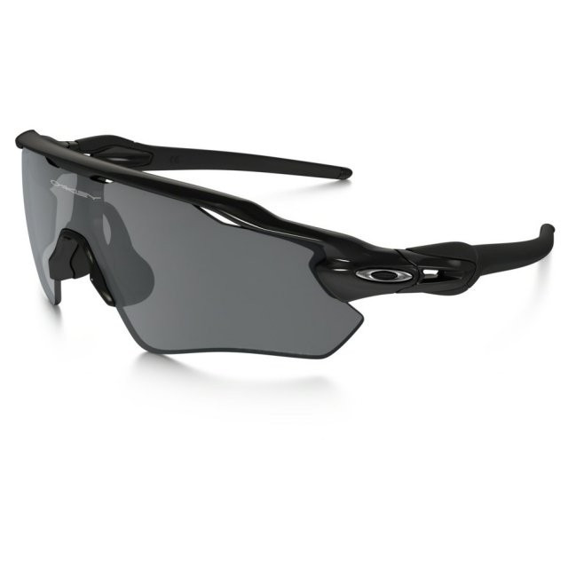 Ochelari de soare OAKLEY Radar EV XS Path Polished Black w/ Black Iridium Polarized (OAK-OJ9001-0731) foto mare