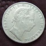JN. 1 florin 1859 B Austro Ungaria, argint, Europa