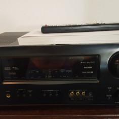Receiver Denon AVR-1708 120w/hdmi 7.1, TELECOMANDA - Amplificator audio