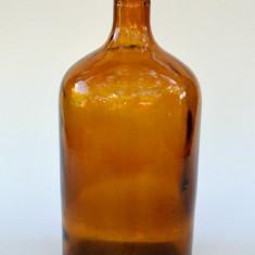 Sticlarie veche laborator sau farmacie, recipient 1500 ml, sticla ambra