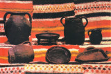 CP MS047 Muzeul Mures - Sectia Etnografie -  Ceramica din valea Muresului, Necirculata, Printata