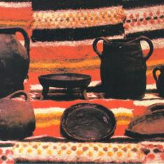 CP MS047 Muzeul Mures - Sectia Etnografie - Ceramica din valea Muresului - Carte Postala Transilvania dupa 1918, Necirculata, Printata