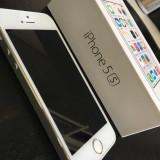 iPhone 5S Apple, Silver, 16GB, Argintiu, Neblocat