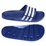 SLAPI, PAPUCI DURAMO SLIDE - SLAPI ORIGINALI, 36, 37, 38, Albastru, Adidas