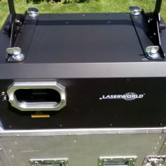 Prototip laser profesional 6 W ILDA, DMX, 445/473/523/655 nm, project nr.8