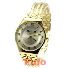 Ceas elegant de dama MATTEO FERARI auriu, design italian, TRANSPORT GRATUIT
