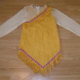 Costum carnaval serbare indianca pentru copii de 9-10 ani - Costum Halloween, Marime: Masura unica, Culoare: Din imagine