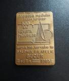 Placheta Revista padurilor 100 de ani - 1985