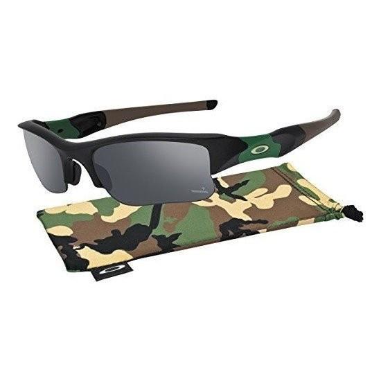 Ochelari de soare OAKLEY SI Flak Jacket Xlj IH Matte Black w/ Black Iridium Polarized (OAK-24-429) foto mare