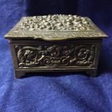 Cutie bijuterii bronz - Metal/Fonta
