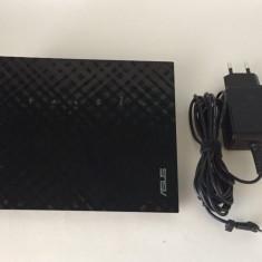 Router wireless ASUS RT-N56U, Dual-Band, 300 + 300Mbps, WAN, LAN, USB (953), Port USB, Porturi LAN: 4, Porturi WAN: 1