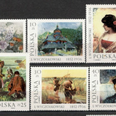 Polonia.1987 Pictura SP.369 - Timbre straine, Nestampilat
