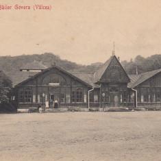 GOVORA STABILIMENTUL BAILOR GOVORA VALCEA EDITURA LIBRARIA O. THURINGER CIRC. - Carte Postala Oltenia 1904-1918, Circulata, Printata
