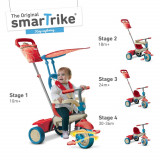 Tricicleta Smart Trike Vanilla Red/Blue - Tricicleta copii