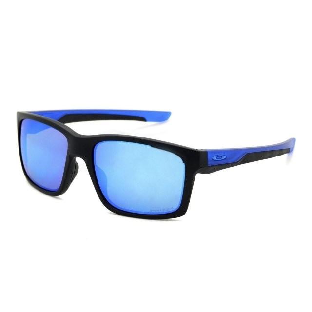 Ochelari de soare OAKLEY Mainlink Matte Black/Sapphire w/ PRIZM Sapphire Polarized (OAK-OO9264-2557) foto mare