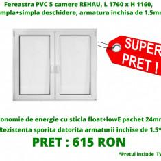 Fereastra PVC rehau 5 camere