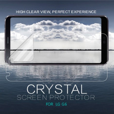 Folie LG G6 Transparenta by Nillkin - Folie de protectie LG, Sticla