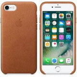 Apple iPhone 7 Leather Case Saddle Brown - Husa Telefon