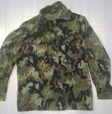 Veston militar camuflaj vara mapn ani 90.(nou} foto