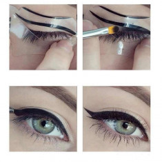 Set de 2 Sabloane pentru un eyeliner perfect - Tus ochi