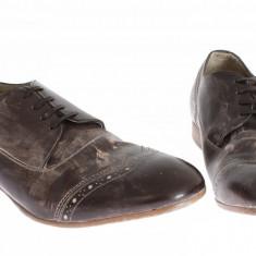 Pantofi eleganti barbati Dolce & Gabbana | CS1164 A5278 80220 - Pantofi barbat Dolce & Gabbana, Marime: 43, Culoare: Din imagine, Piele naturala