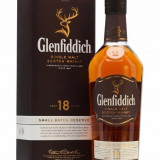 Whisky Glenfiddich single malt 18 ani in cutie