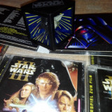 Set Colectie Sound track Star Wars + Mirror box star wars 3D 1996 - Miniatura Figurina