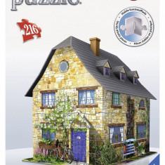 Puzzle Ravensburger 3D Vila Engleza, 216 Piese