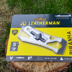 Leatherman Piranha - multifunctional tactic - Briceag/Cutit vanatoare