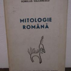 MITOLOGIE ROMANA de ROMULUS VULCANESCU - Carte mitologie
