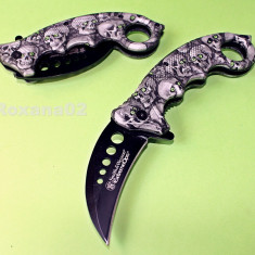 CUTIT. BRICEAG KARAMBIT. Smith and Wesson Extreme OPS Zombie Killer