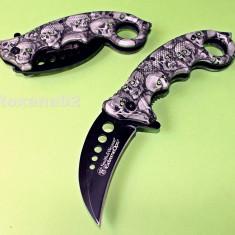 CUTIT. BRICEAG KARAMBIT. Smith and Wesson Extreme OPS Zombie Killer - Briceag/Cutit vanatoare