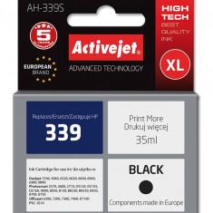 Cartus compatibil AC-HP-339XL Black pentru HP C8767EE, Premium Activejet, Garantie 5 ani