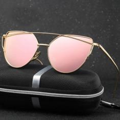 Ochelari De Soare Dama - CAT EYE / OCHI DE PISICA - Rama Metal, UV400 - MOdel 7, Femei