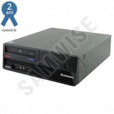 Calculator Incomplet Lenovo M57 DT, LGA775, Intel Q35, DDR2, SATA2...Garantie! - Sisteme desktop fara monitor Lenovo, Intel Core 2 Duo, Fara sistem operare
