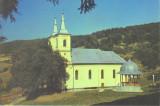 Carte postala CP CJ052 Manastirea Nicula - Biserica Mare si Aghiasmatarul