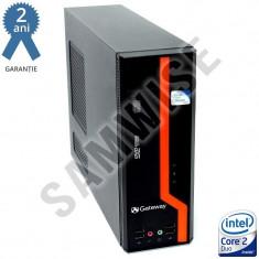 Calculator Intel Core 2 Duo E8400 3GHz 2GB DDR3 80GB GMA X4500 DVI DVD GARANTIE!